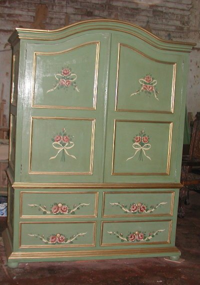 French Country Wardrobe Armoire