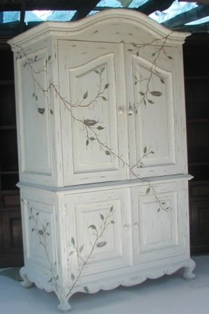 French Armoire Doors
