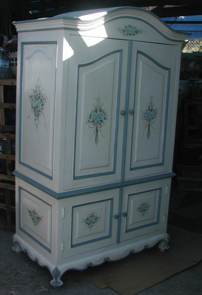 French Country Armoire ...
