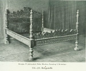Renaissance Period Bed