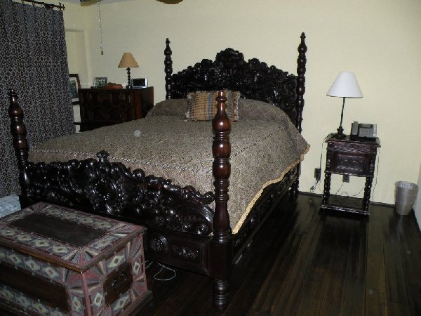 Old World Tuscan bedroom