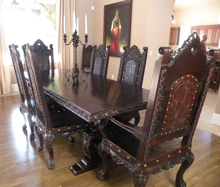 Spanish Dining Room Sets