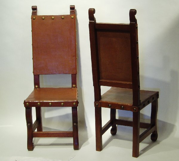 Merveilleux Spanish Colonial Chairs