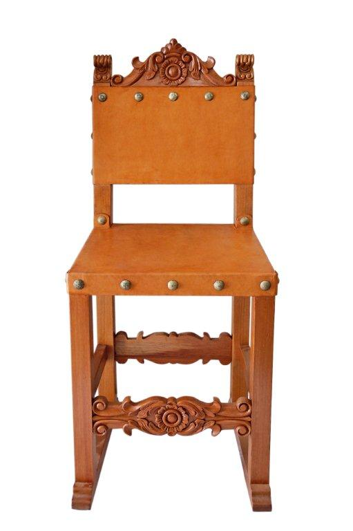 spanish friar chair chestnut
