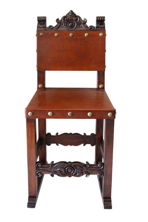spanish counter chair