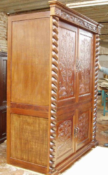Renaissance Architectural Custom Old World Cabinets