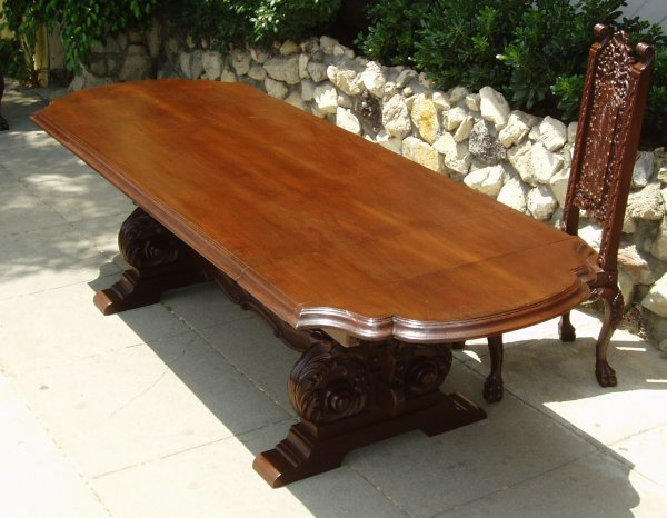 Old World Tuscan Dining Table