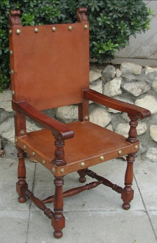Italian Friar arm chair