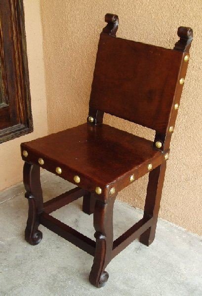 Spanish Colonial Kitchen Chair
