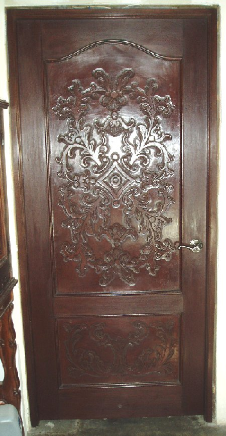 Renaissance Architecture Carved Leather Panels