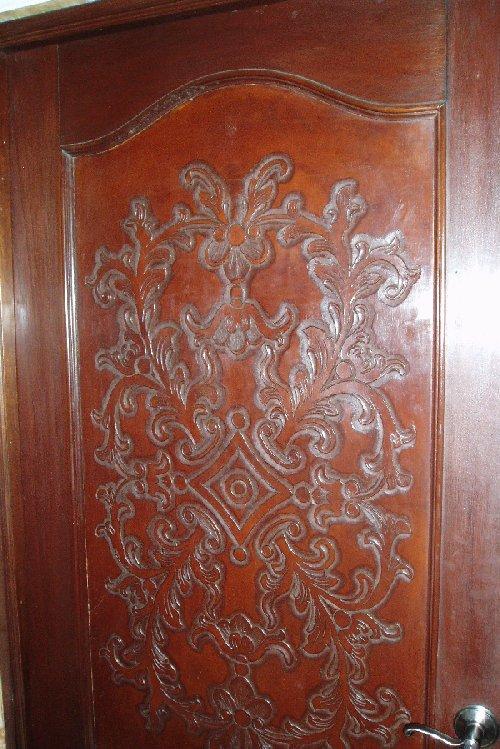 Renaissance Architecture Carved Leather Panels