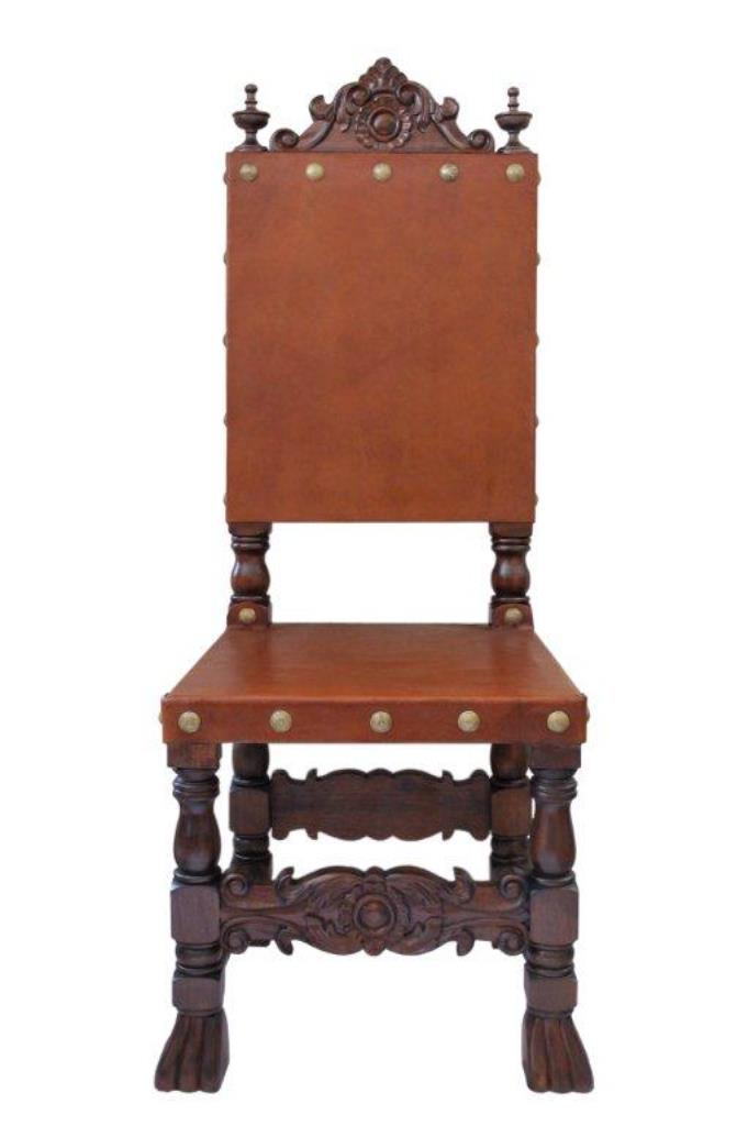 Renaissance Friar Side Chair