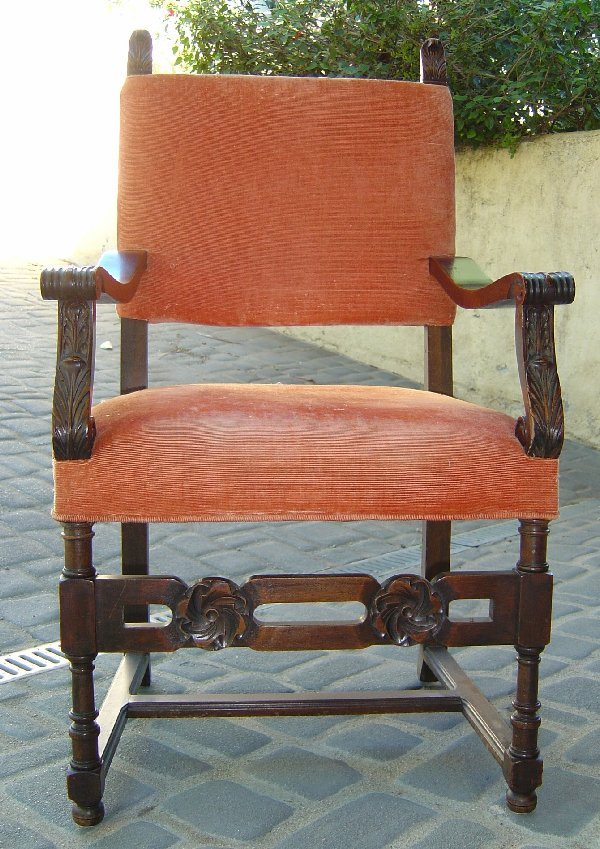 Spanish Revival Chair reproduction