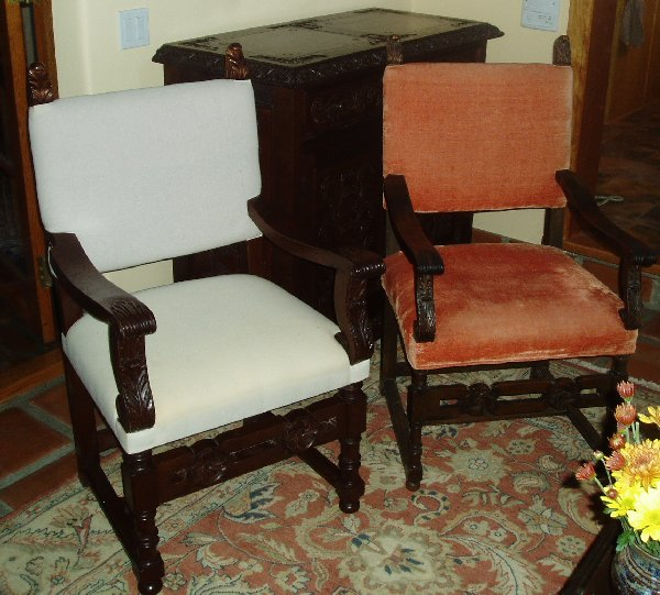 Spanish Revival Chair repair
