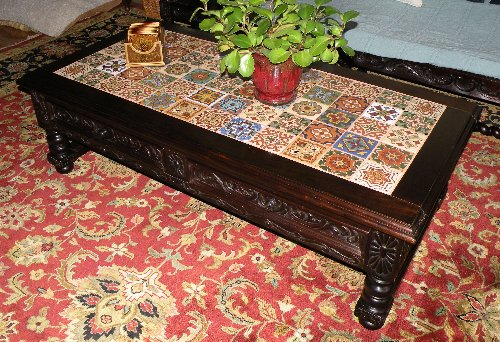 Spanish Revival coffee table