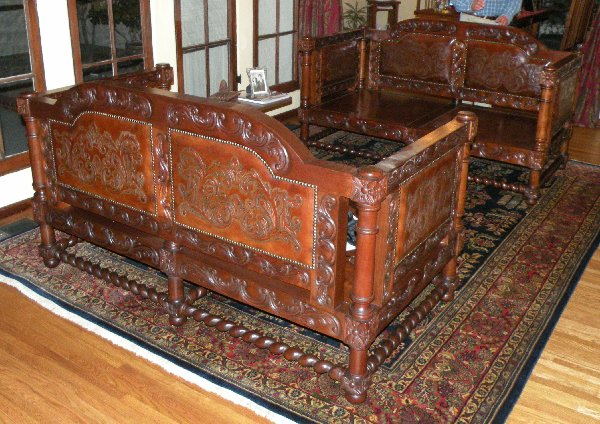 Renaissance architecture spanish revival sofa tuscan Furniture in spanish
