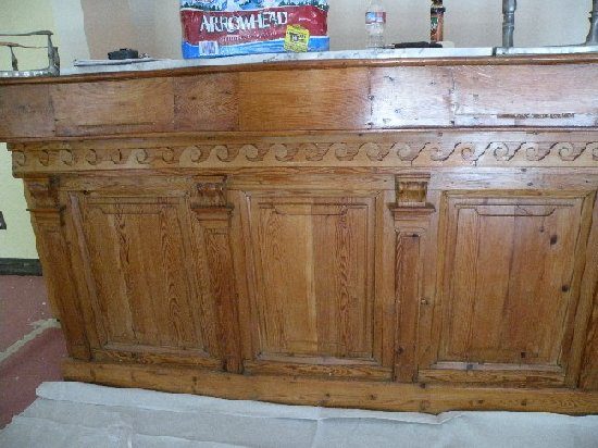 Custom Pub Table With Chairs, Unfinished Furniture Kansas City