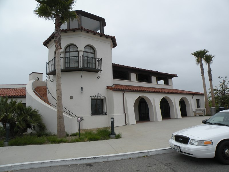 santa barbara airport museum, Spanish Revival Building